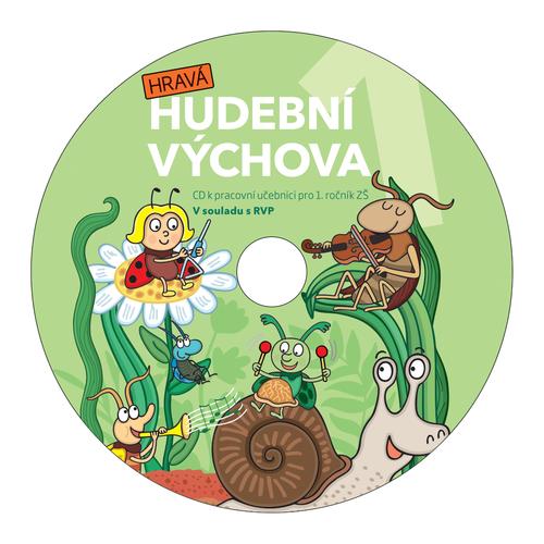 Hravá hudební výchova 1 - CD k pracovní učebnici pro 1. ročník ZŠ