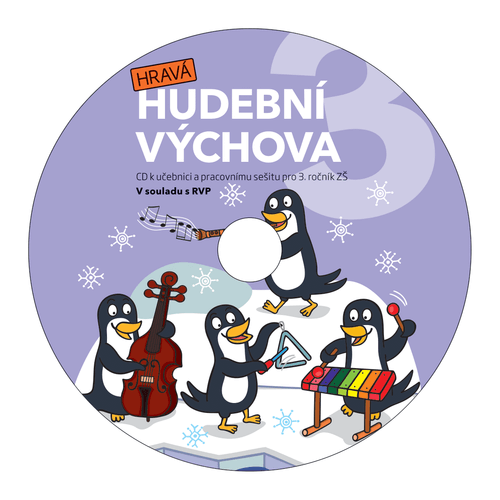 Hravá hudební výchova 3 - CD k pracovní učebnici pro 3. ročník ZŠ